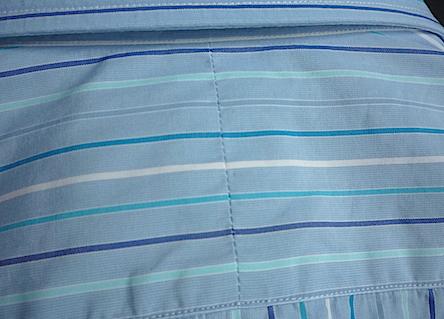 Кокетка из двух частей на рубашке Turnbull&Asser