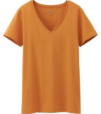 Бюджетная футболка марки Uniqlo