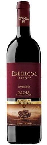 Вино Torres Ibericos Crianza 2010