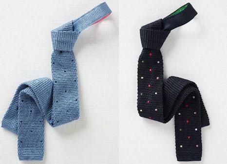 Узкие галстуки.