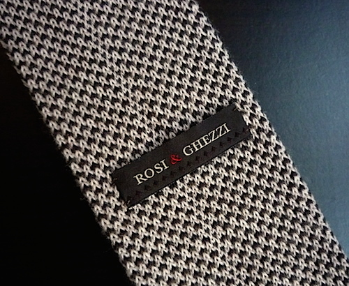 Вязаный галстук Rosi&Ghezzi (3)