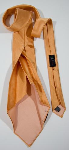 Галстук в семь сложений (без подкладки)