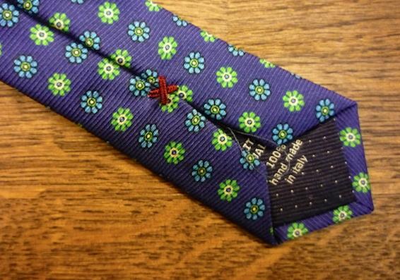 Шёлковый галстук Fumagalli с узором фуляр
