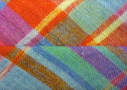 Фактура ткани льняного галстука Fumagalli