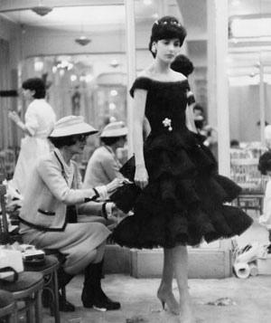 модное платье Шанель