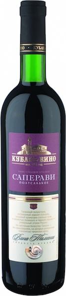 Дешевое полусладкое вино из России