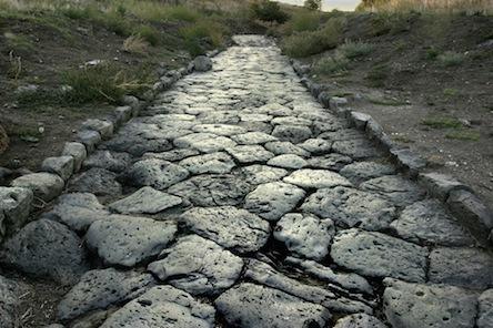 Одна из римских дорог в Британии