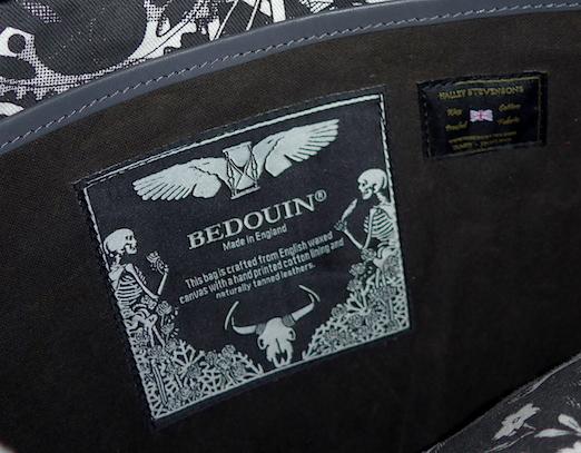 Bedouin - логотип и этикетка