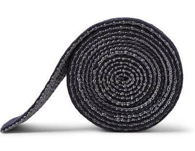 """Двухсторонний трикотажный галстук Brioni """"в профиль"""""""