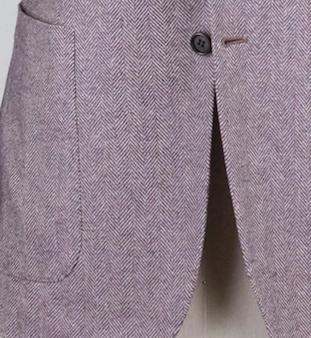 Непарный пиджак Kiton в ёлочку