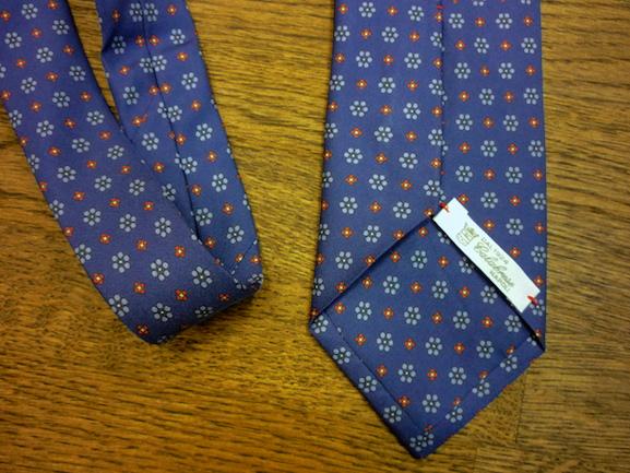 Шёлковый галстук Calabrese (2)