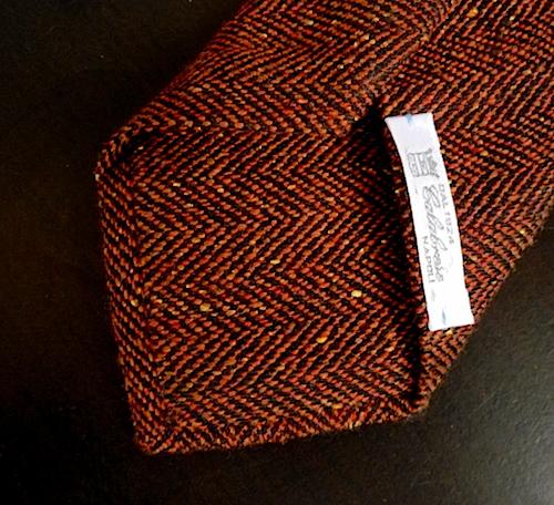 Коричневый галстук Calabrese
