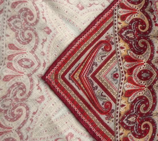 Красный платок Calabrese