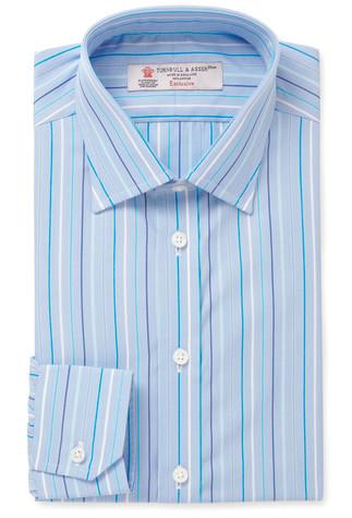 Полосатая рубашка Turnbull&Asser