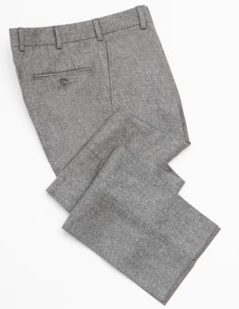 Серые фланелевые брюки