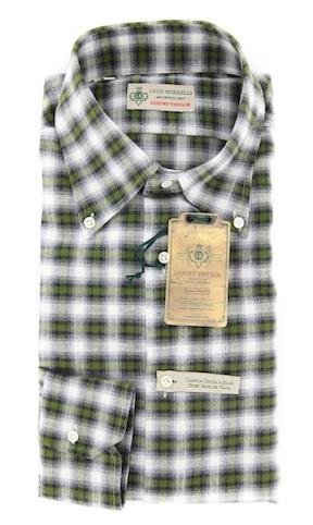 Фланелевая рубашка (Luigi Borrelli)