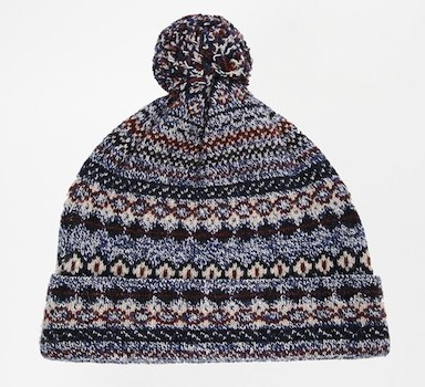 Шапка Asos из Lambswool mix