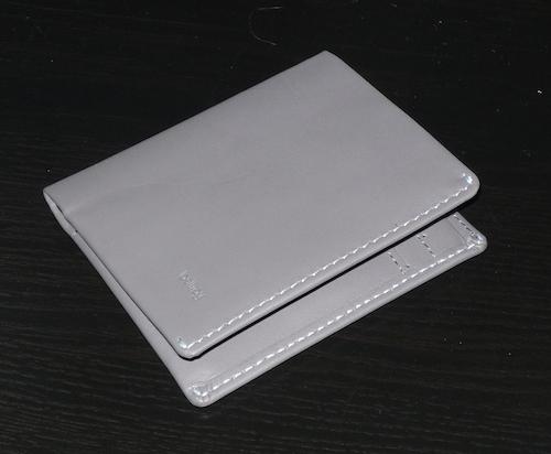 Серый кошелек Bellroy