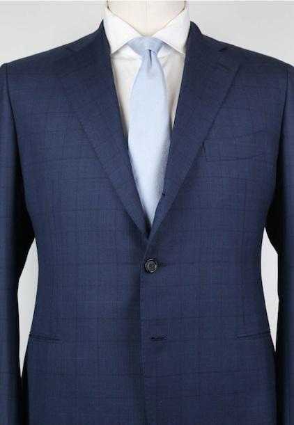 Прорезные карманы на пиджаке Cesare Attolini