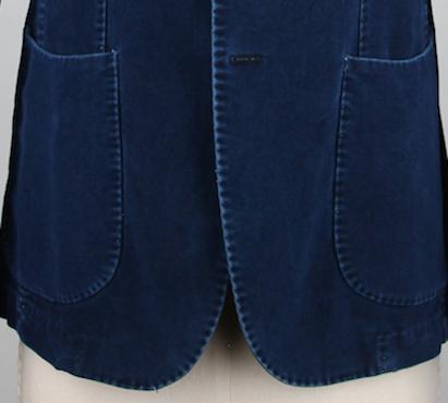 Карманы на пиджаке Finamore
