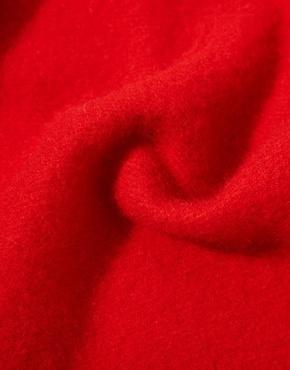 Красный шарф Johnstons из lambswool