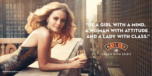 Реклама Baileys