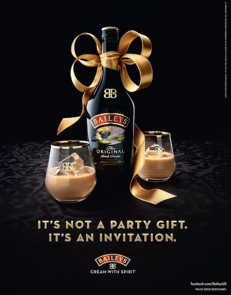 Baileys ads and glasses