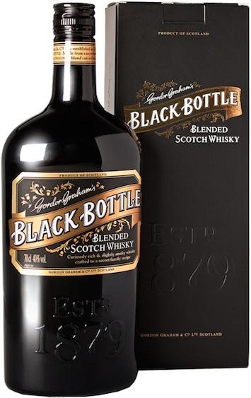 Black Bottle - современная бутылка