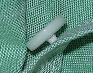 Пуговица на ножке