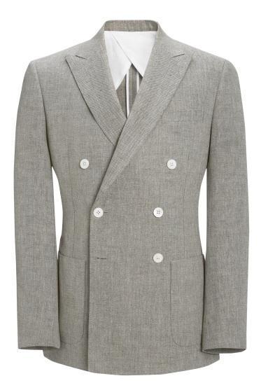 Crombie jacket linen