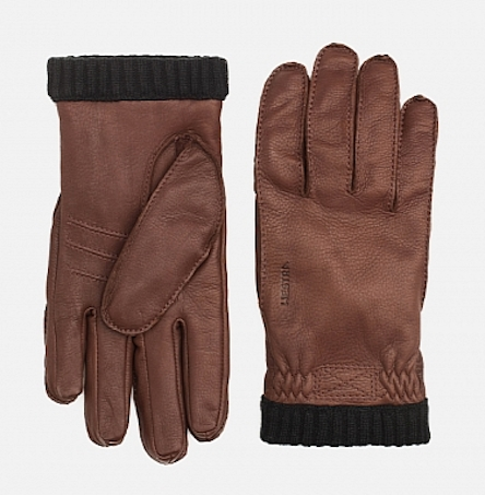 Перчатки Hestra из оленьей кожи
