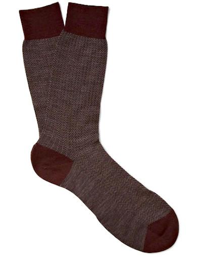 Общий вид носка Pantherella