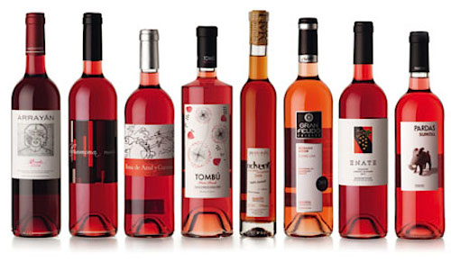 Испанские розовые вина