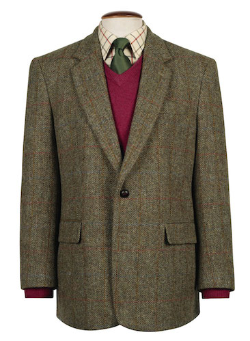Tweed look