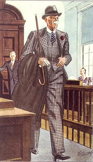 Иллюстрация начала 1930-х в журнале Apparel Arts