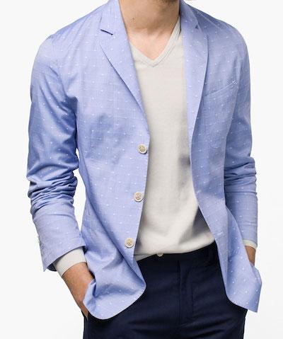 Unstructured пиджак Massimo Dutti