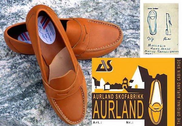 Aurland лоаферы