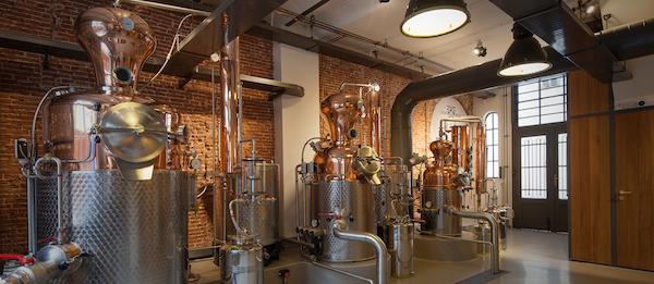 Lucas Bols distillery