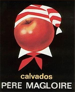 Один из старых рекламных плакатов Pere Magloire