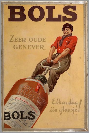 Poster genever Bols