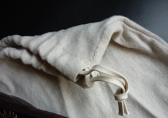 Santoni dust bag 2