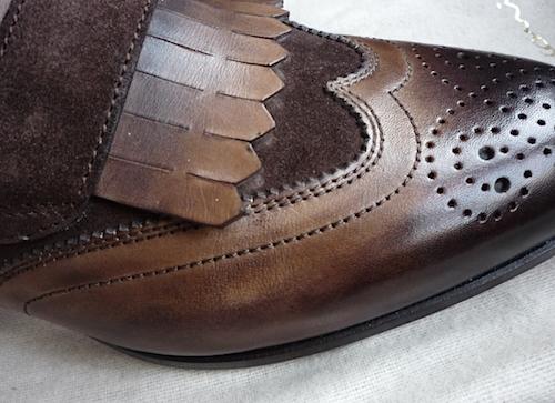 Santoni leather 2