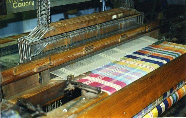 Один из ткацких станков Simonnot-Godard