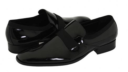 Tuxedo loafers