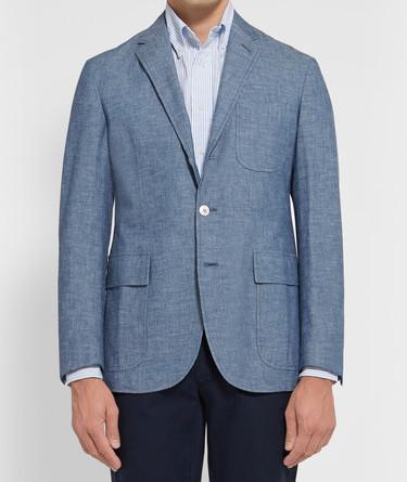 Unstructured пиджак Polo Ralph Lauren