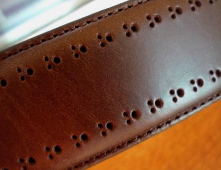 Vachetta B&B belt1