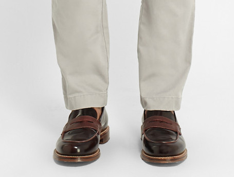 Loafers and chinos