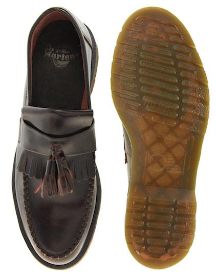 DrMartens tassel loafers