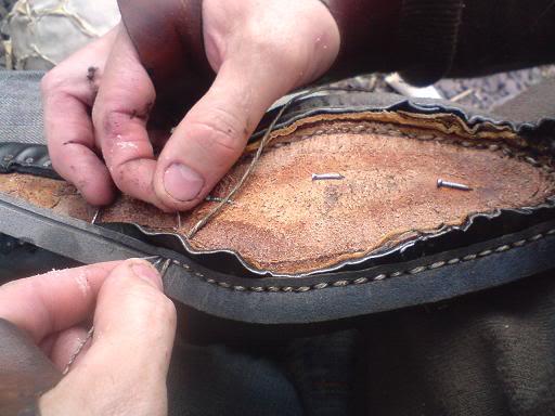 Hand-welting