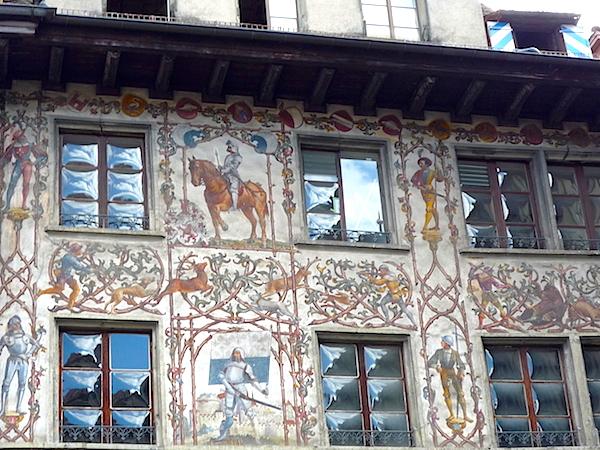 Фрески на Дорнах Хаусе